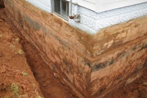 Hillsboro basement repair with exposed foundation