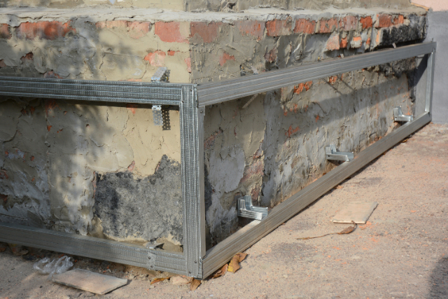 Hillsboro house foundation wall repair
